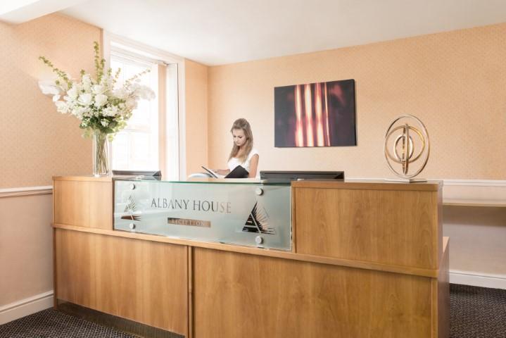 Wokingham office reception