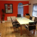 london-mill-hill-nw7-reception-boardroom-orange