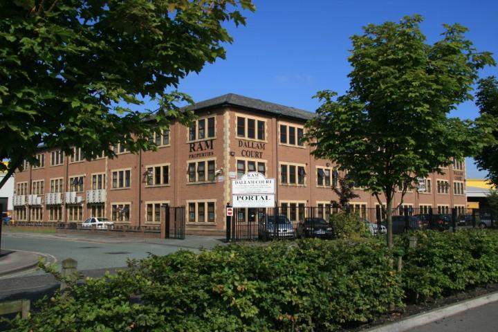 External view of Warrington Dallam Court offices