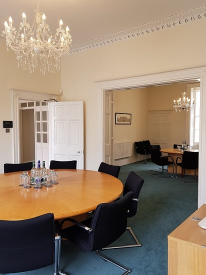 Harley house officefront boardroom